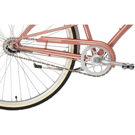 Creme Caferacer Uno Damer, pearl pink